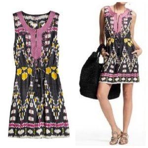 Calypso St. Barts Risha Ikat dress. XS
